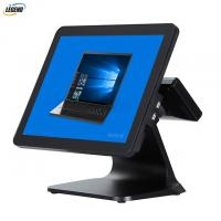400 CD/㎡ 15 Inch Electronic POS Systems Intel Cerelon I5 CPU For Clothes Shop Manufactures