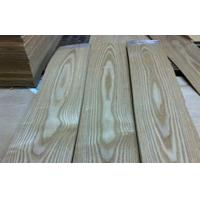 Yellow Ash Wood Veneer Flooring Face ,  Natural Veneer Wood Paneling Manufactures
