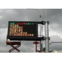 P6.25 Outdoor Traffic LED Display Road Side Information LED Board Manufactures