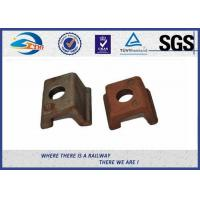 High Tensile Oiled Black Railroad Clips And Fasteners With Q235 Steel Material DIN5906 Manufactures