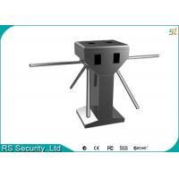 Double Tripod Turnstile Security Systems, Card Reader Turnstiles Manufactures