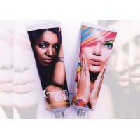Round Cosmetic Tube Packaging SuppliersOpen / Elongated / Sealed Nozzles Manufactures