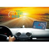 "5.5 "" Screen Bmw X3 Heads Up Speed Display Blue White LED Fuel Consumption RPM Alarm Manufactures"