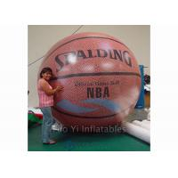Customized Inflatable Basketball Sports Themed Balloons Weather - Resistant Manufactures