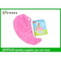 China Various Colors Hair Drying Towel Wrap , Quick Dry Hair Towels 250GSMg on sale