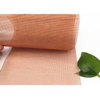 Phosphor Bronze Copper Wire Mesh Screen Material 30m Cloth Length Plain Knit Manufactures