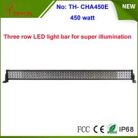 China factory hot wholesale 450w Epistar off road led light bar 3 rows 55 inch Manufactures