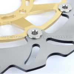 300mm Motorcycle Brake Disc Braking Disc Brakes GSXR 750 CNC Billet Aluminum