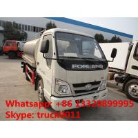 forland 5,000L milk tank truck for sale, hot sale stainless steel liquid food tank truck Manufactures
