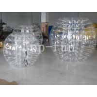 1.2 / 1.5 / 1.8m PVC / TPU Transparent Inflatable Body Bumper Ball For Kids And Adults Manufactures