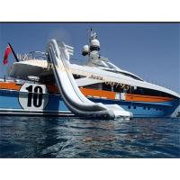 water slide boat water slide boat inflatable water slide for boat ship yacht Manufactures