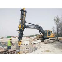 Construction Telescopic Boom Grab Foundation Drilling Tools Excavator Telescopic Clamshell Manufactures