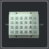 China Waterproof Custom Keyboard Pad Metal Material For Door Access / Express Cabinet on sale