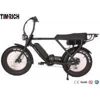 TM-BGL-ATV08  Mid Drive Electric Battery Powered Bike 48V 15AH Battery Charge Time 4-6 Hours Manufactures