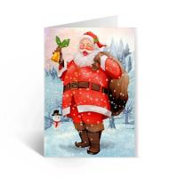 Happy Birthday Lenticular Greeting Cards / Colored 3D Lenticular Card Manufactures