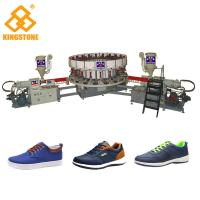 Single / Double Color Soles PVC Shoes Making Machine For Sneaker Outsoles Winter Shoes Manufactures