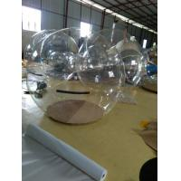 Unique Inflatable Advertising Products , Christmas Decoration Transparent Ball Manufactures