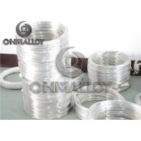 Ag72Cu28 High Temp Alloys Welding Wire 1mm / 1.5mm / 2mm for C Point Power Cut Off Manufactures
