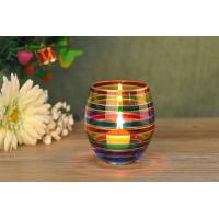 Home Wedding Decorative Glass Candle Holder Popular Christmas Gift Manufactures