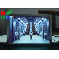 """Portrait View LED Snap Frame Light Box 24""""x36"""" 24""""x48"""" Size For Advertising Manufactures"""