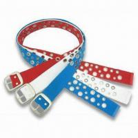 Fabric Belt with Eyelet Manufactures
