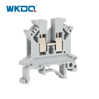 32A PA66 Wire Screw Electrical Terminal Block UK 2.5B Manufactures
