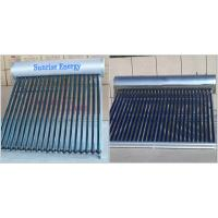 CE certified family use compact unpressure solar water heater Manufactures