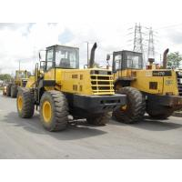 Second Hand Wheel Loaders Komatsu WA470-3 Wheel Loader With S6D25 Engine Manufactures
