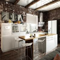 Contemporary Furniture Solid Hardwood Kitchen Cabinets Optional Surface Treatment Manufactures