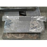 Mn13cr2 Metal Casting Parts , Coal Grinding Wear Plate For Power Plant Manufactures