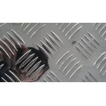 Custom Diamond Aluminum Tread Sheet  3003 H224 Aluminum Checkered Plate Manufactures