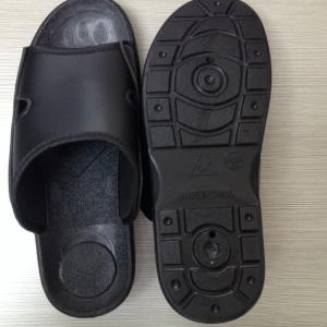 Cleanroom Antistatic TPU Slipper Black Manufactures