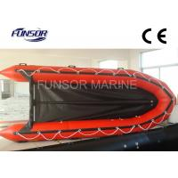 V Type Hypalon Tube Yachts Aluminum Floor Foldable Inflatable Boat For 10 Passengers Manufactures