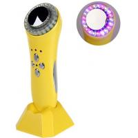 No Side Effects Yellow Color LED Light Therapy Ultrasonic Beautiful Instrument Manufactures
