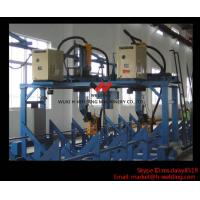 Automatic Gantry I / T / H Beam Production Line Auto Welding Machine , Gantry Welding Tools Manufactures