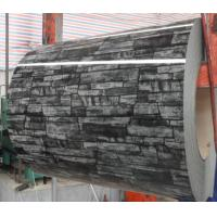 Buy cheap Brick Stone Grain Prepainted Color Coated Steel Coil High Around 90 Degree Gloss below 1250mm width from wholesalers