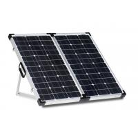 China White Sheet 80 Watt Solar Panel Lock And Handle Anodized Aluminum Alloy Frame on sale