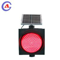 Solar Powered Yellow Amber Slow Down Flashing LED Traffic Warning Light / Road Safety Warning Light Manufactures