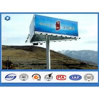 Trivision Billboard street pole advertising  Anti - rust / Anti - corrosion feature 2 ~ 15mm thickness Manufactures