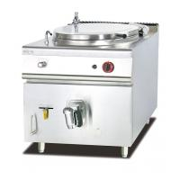 Gas Soup Kettle Western Kitchen Equipment 100L Capacity Soup Boiling Pan Manufactures