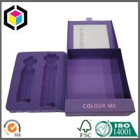 Hinged Lid Rigid Chipboard Paper Gift Box Clear Window for Cosmetics Package with Insert Manufactures