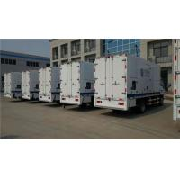 Large Capacity Tank Truck Mounted Generator Sets 460 KW 50HZ / 60HZ Manufactures