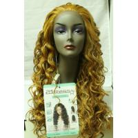 High Quality Long Hair Curly Heat Resistant Lace Front Wig About 22 Inches Manufactures