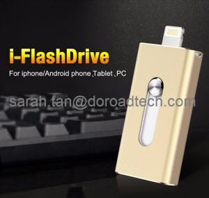China i-Flash Device OTG Flash Drive USB Disk for iPhone iPad Air iPod External USB Flash Drives on sale
