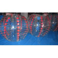 Durable Football Equipment Body Zorbing Ball / Bubble Soccer Ball Manufactures