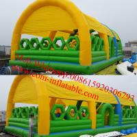 inflatable obstacle course kids obstacle course equipment kids obstacle course Manufactures