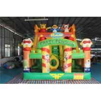 Quality crazy birds  bouncy castle slide inflatable for sale