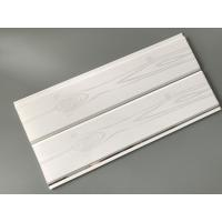Printing Surface Plastic Wall Liner Panels , White Wood Paneling For Walls Manufactures