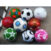 PVC Plastic Custom Inflatable Products Beach Football Ball with Pattern Printing Manufactures