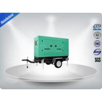 Noise Proof Industrial Trailer Mounted Generator 6 Cylinder For Residential Manufactures